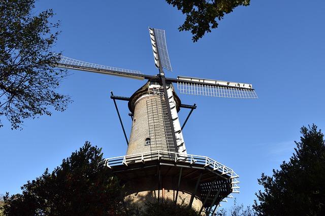 Sehenswürdigkeiten von Alkmaar - Molen van Groot - Maris Luxus Apartment